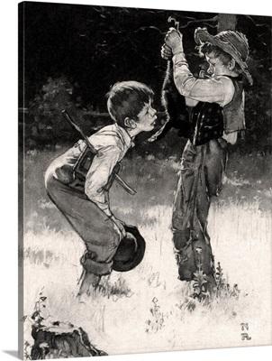 Tom Sawyer: Dead Cat (Study)