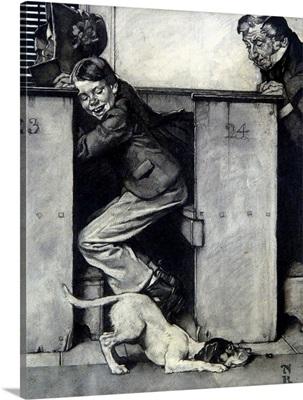 Tom Sawyer: Dog And Beetle (Study)