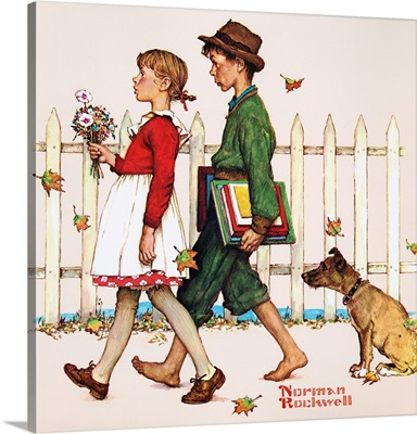 Young Love: Walking To School