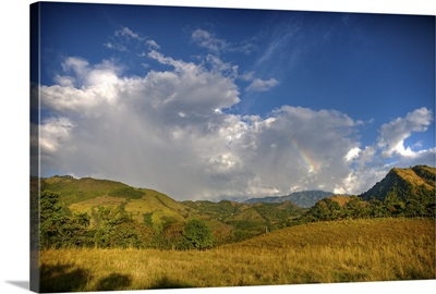 Afternoon Rainbow and clouds