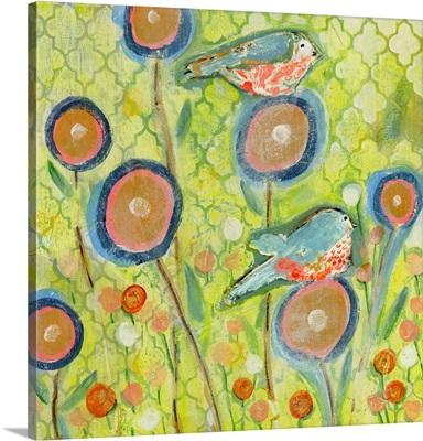 Antique Bloomin Bird