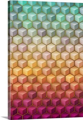 Colorful Geometric Shapes VII