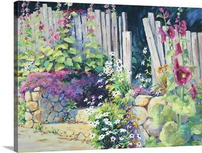 Hollyhock Garden 34
