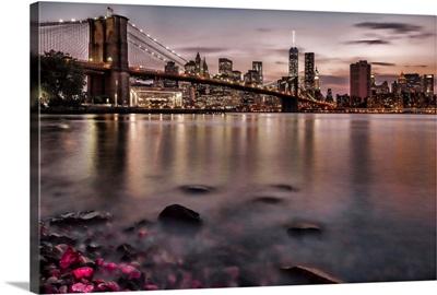 NYC Skyline at Sunset VI