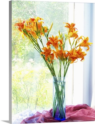 Orange Daylily Bouquet