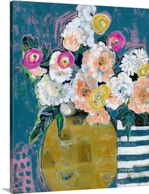 Spring Floral Vases