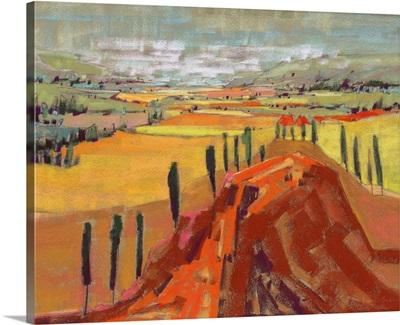 Tuscan Hills and Fields II