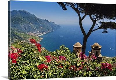 Amalfi Coast Vista From Ravello