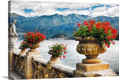 Balustrade with Lake View, Villa Balbianello, Lenno, Lake Como