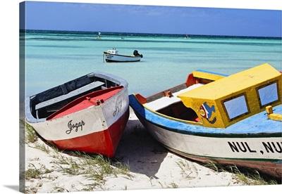 Boats of Aruba