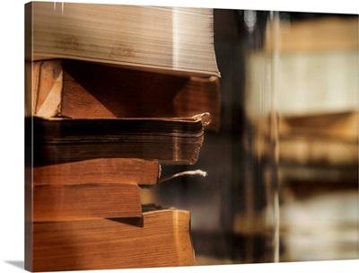 Books Under Glass