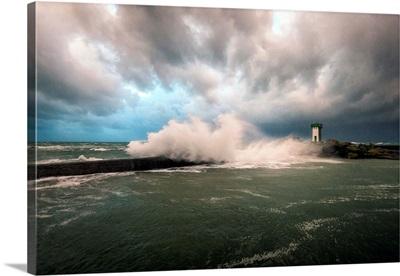 Bretagne, Sea Wall