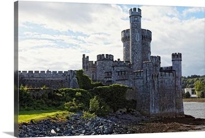 Castle on the River, Blackrock Castle, River Lee, City Cork, Rep