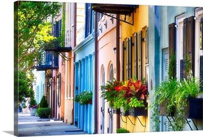 Charleston Rainbow Row II