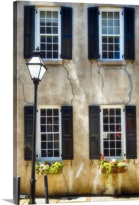 Charleston Street in Romantic Light