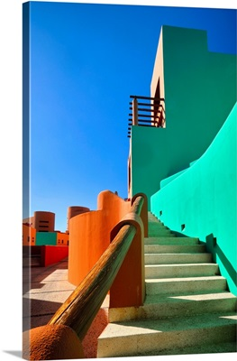 Colorful Shapes of Cabo San Lucas
