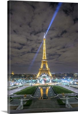 Eiffel Tower -View from the Trocadero