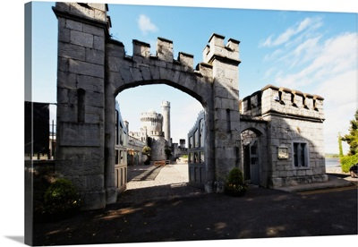 Entrance Gate of the Blackrock Castle, Cork, Republic of Ireland