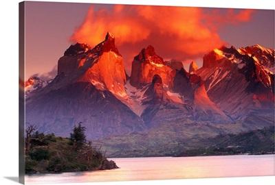 Fiery Peaks