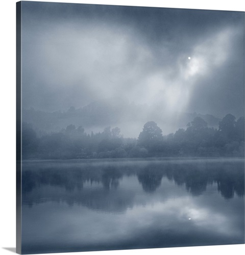 Foggy Morning, Lake Ullswater Wall Art, Canvas Prints, Framed Prints ...