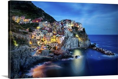 Italian Hillside Homes