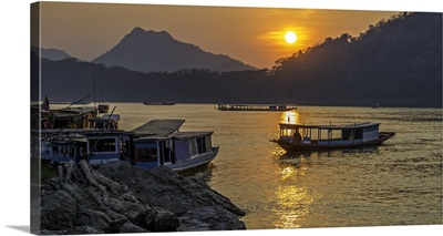 Laotian Fishing Village