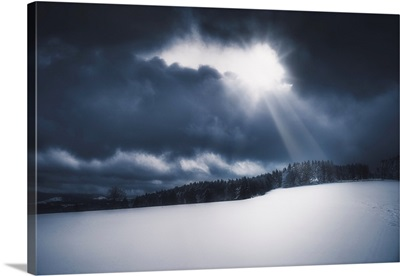 Light Above The Snow