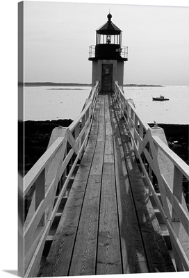 Lightstation and a Boat, Port Clyde, Maine