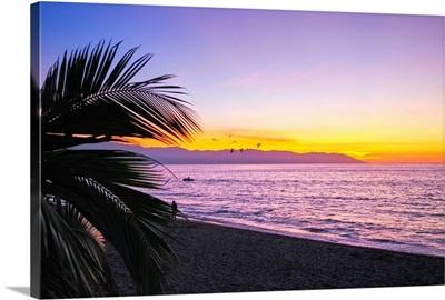 Los Muertos Beach Sunset