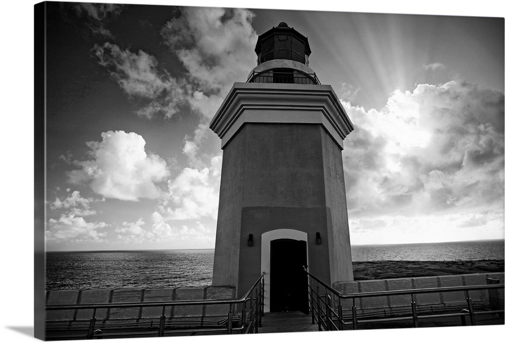 Low Angle View of a Lighthouse Tower Against Dramatic Sky ...
