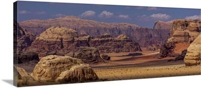 Middle East, Jordan, Wadi Rum
