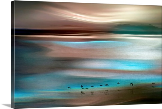 Teal Canvas Wall Art migrations wall art, canvas prints, framed prints, wall peels