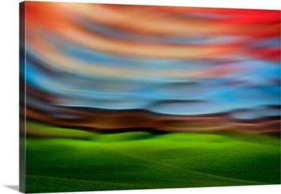 Palouse Abstract III