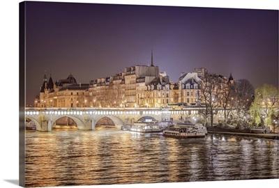 Paris en France, la Seine