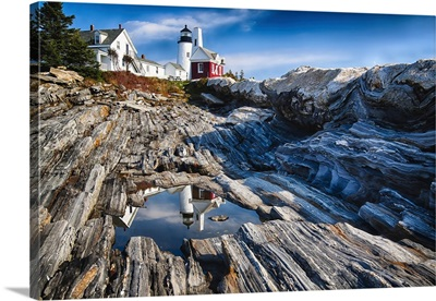 Permaquid Point Lighthouse Reflection I