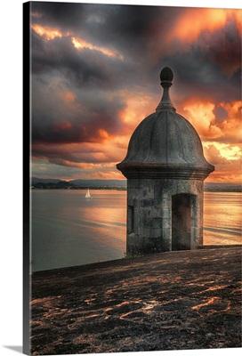 San Juan Bay Sunset