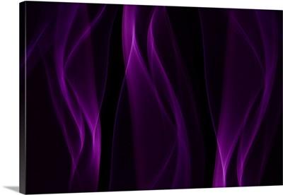 Smoke Shapes in Purple