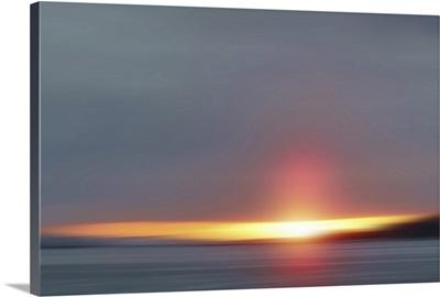 Spring Sunset I