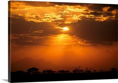 Sunsets Blanket