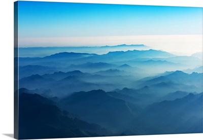 The Blue Mountains of Luang Prabang