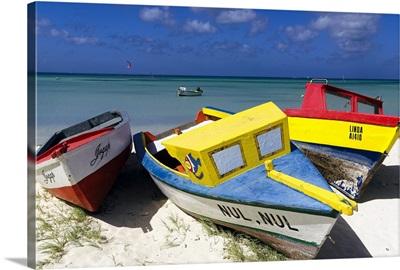 Three Boats of Aruba