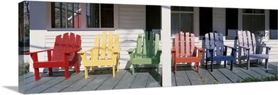 Adirondack Chairs Porch Plymouth Vermont