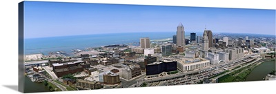 Aerial Cleveland OH
