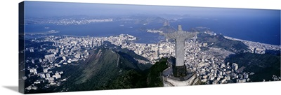 Aerial Rio de Janeiro Brazil