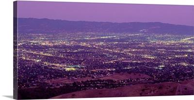 Aerial Silicon Valley San Jose CA