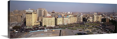 Aerial view of a city, Cairo, Egypt