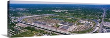 Aerial view of a city, Indianapolis Motor Speedway, Indianapolis, Indiana