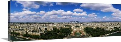 Aerial view of a city, Paris, Ile-de-France, France