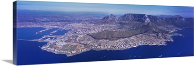 Aerial view of an island, Cape Town, Western Cape Province, South Africa