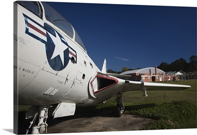 Airplane at a historic site, Tuskegee Institute National Historic Site